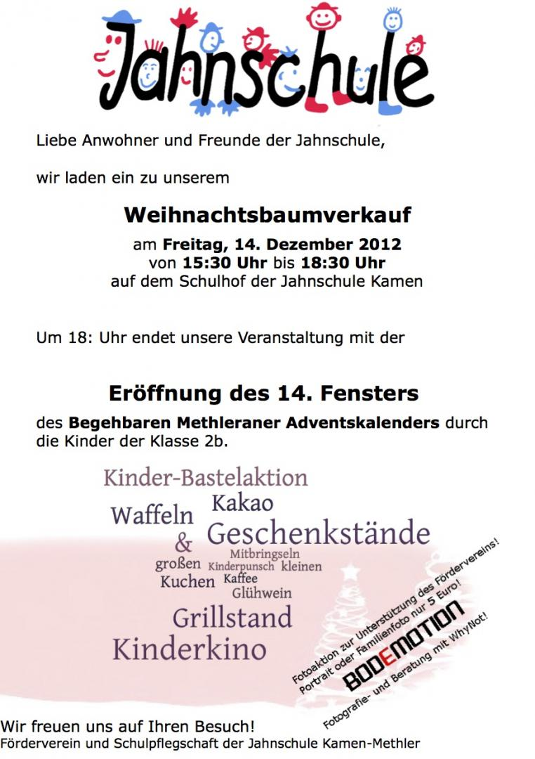 Flyer Jahnschule