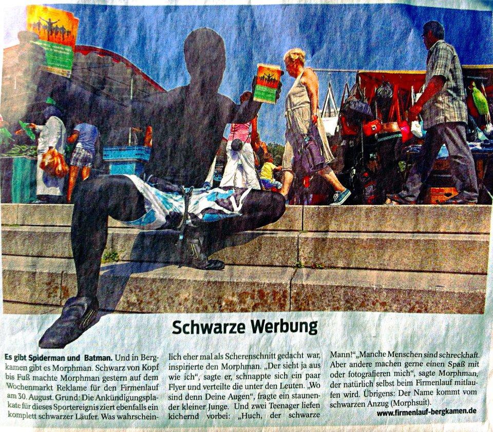 Morphman in der Zeitung